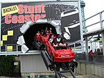 Kings Island Backlot Stunt Coaster red train billboard.jpg