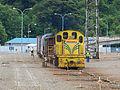 KiwiRail DSJ 4004 shunting at Picton 20100121 1.jpg