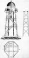 Kleiner Leuchtturm Neuwerk Aufriss 1815.png