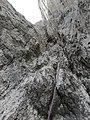 Kletterei in der 6. Seillänge.jpg