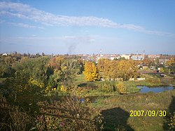 Klin, Moscow oblast view of NE sector.jpg