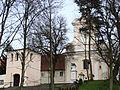 Kościół klasztorny reformatów, ob. par. pw. św. Mikołaja, 2 poł. XVIII Łabiszyn (25).JPG