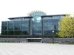 Walter C. Koerner Library - Koerner library in 2009