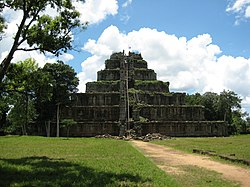 Prasat Thom at Koh Ker Temple Complex 40 km west of Tbeng Meanchey