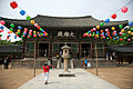 Korea-Gyeongju-Bulguksa-Daeungjeon with lanterns-01.jpg
