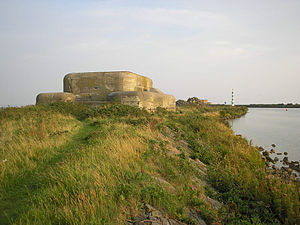 Battle of the Afsluitdijk - A casemate at Fort Konwerderzand