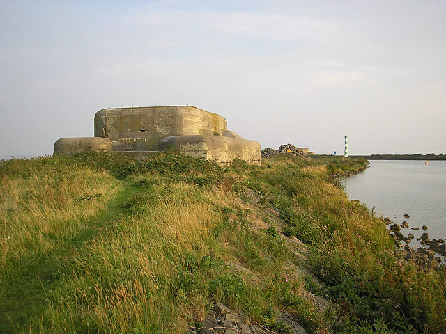 The Battle of the Afsluitdijk - one of the bunkers of the Kornwerderzand complex.