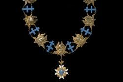 Kors og kæde, serafimerorden og - Livrustkammaren - 50053. tif