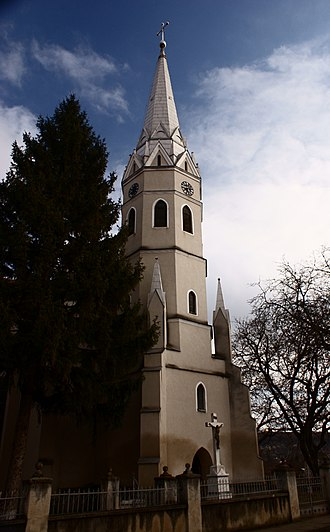Beltiug - The Roman Catholic Church of Beltiug, built in 1862 from the donation of Alajos Károlyi