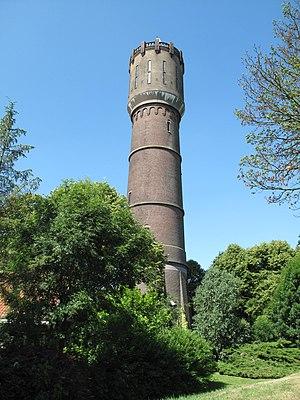 Krimpen aan de Lek - Image: Krimpen ad Lek, watertoren foto 2 2010 07 04 11.27