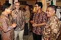 Kristen Bauer hosts a reception to reflect on life in Aceh after the 2004 Indian Ocean earthquake and tsunami disaster; December 2014 (17).jpg
