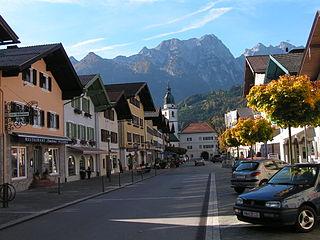 Kuchl Place in Salzburg, Austria