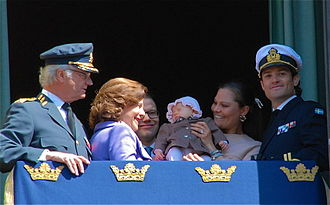 Swedish royal family - Some of the governmentally recognized (royal) members of the Swedish Royal Family in 2012.
