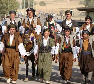 Kurdish clothing - Kurdish men's traditional clothing