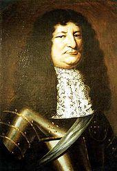 Friedrich Wilhelm, der Große Kurfürst im Harnisch und mit Schärpe, Gemälde von 1663 (Quelle: Wikimedia)