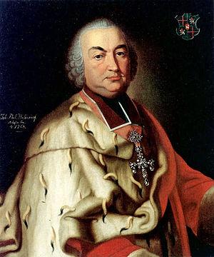 Johann IX. Philipp von Walderdorff - Johann Philipp von Walderdorff.