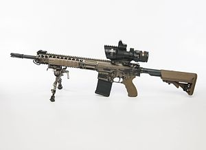 Lewis Machine and Tool Company - Image: L129A1 Sharpshooter rifle MOD 45162219