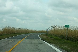 Louisiana Highway 82 - Image: LA82e Road Vermillion Parish