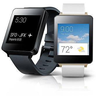 LG G Watch - Image: LG전자, 세계 스마트워치 시장 본격 공략 14507399524