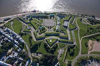 Citadelle of Quebec - Aerial view of the Citadelle