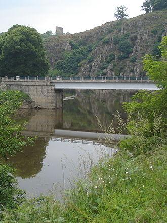 Crozant - Creuse river