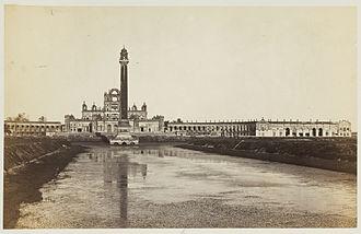 La Martiniere Lucknow - La Martinière in 1862 (Shepherd & Robertson)