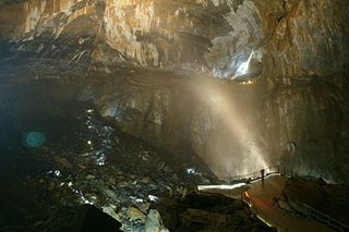 La Verna cave cave in France