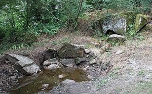 La fontaine préhistorique de Kermore á Séglien
