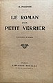La roman d'un petit verrier, Mathieu Fournier, 1925.jpg