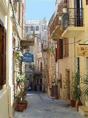 La vieille ville vénitienne et turque (La Canée, Crète) (5743879845)