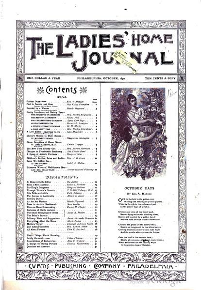File:Ladies' Home Journal Vol.9 No.11 (October, 1892).pdf