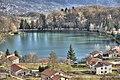 Lago Sirino fotografato al volo dall'autostrada - panoramio.jpg