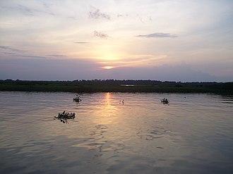 Ciénagas del Catatumbo National Park - Image: Lago de Maracaibo desde el Parque nacional