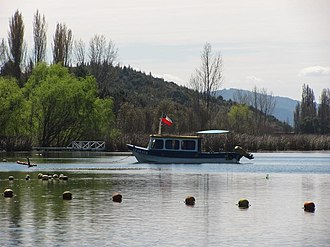 Ñuble Region - Avendaño Lake located in Quillón.