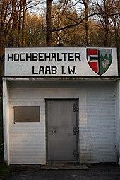 Lainzer Tiergarten März 2014 Hochbehälter Laab im Walde 2.jpg