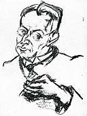 Lajos Tihanyi Karl Kraus 1925