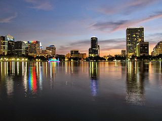 Downtown Orlando Neighborhood of Orlando in Orange County, Florida, United States
