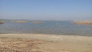 Pikrolimni (lake) Endorheic, alkaline salt lake in Kilkis prefecture, Greece