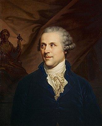 John Rogerson (physician) - John Rogerson, portrait c. 1790 by Johann Baptist von Lampi the Elder