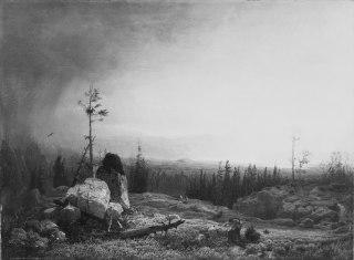 Landscape. Motif from Telemarken