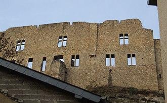 Larochette - Image: Larochette Castle 2