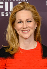 Laura Linney won for her performance on John Adams (2008) as Abigail Adams. Laura Linney 2016 (cropped).jpg