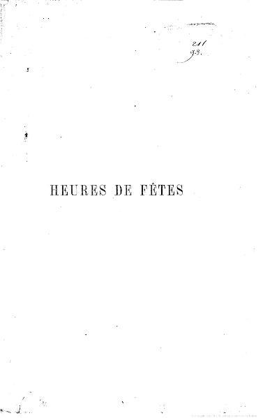 File:Laurent-Pichat - Heures de fêtes, 1893.djvu