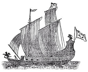 1679 : Griffin First European Sailing Ship To Reach Michigan
