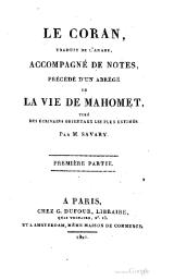 Le Coran - Traduction de Savary, volume 1, 1821.djvu