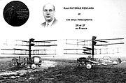 Les Hélicoptères du Marquis de Pescara des années 1921 à 1925