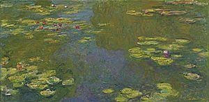 Le Bassin Aux Nymphéas - Image: Le bassin aux nymphéas Claude Monet