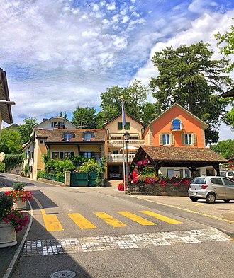 Pregny-Chambésy - Image: Le hameau de Chambésy Dessous (6)