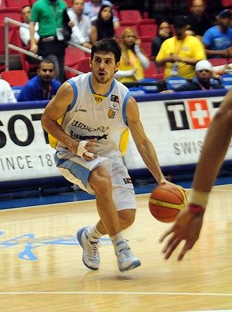 Leandro García Morales - García Morales, playing with the Uruguayan NT, in 2009.