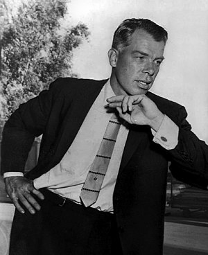 Lee Marvin - Marvin in 1959 from the set of M Squad